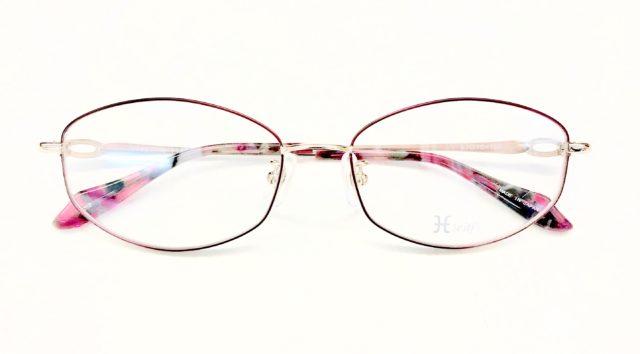 転写タイプのメガネです。 【ルックワン網干店】