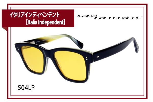イタリアインディペンデント【Italia Independent】504LP