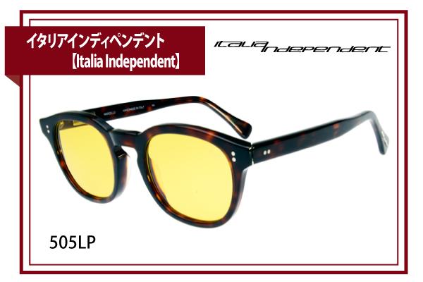 イタリアインディペンデント【Italia Independent】505LP